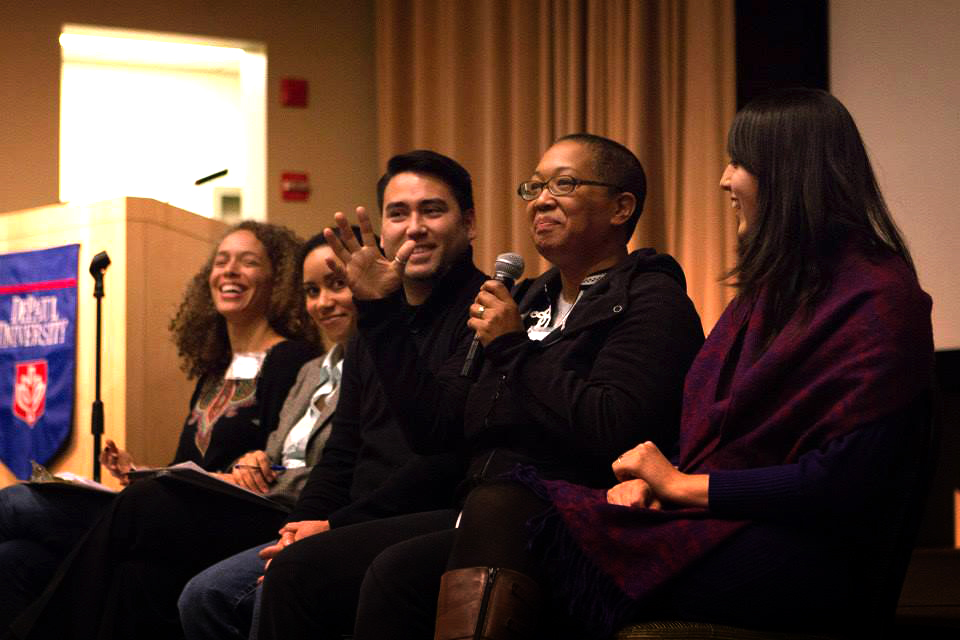 2014 Critical Mixed Race Studies Conference (photo by Ken Tanabe)